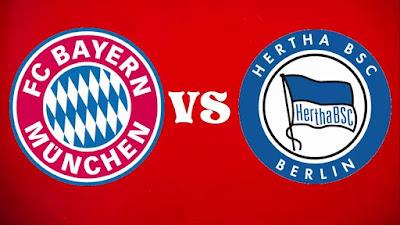مشاهدة مباراة بايرن ميونخ وهيرتا برلين بث مباشر اليوم
