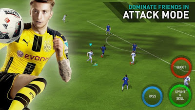 Download FIFA Mobile Soccer Apk v2.1.0 Mod Terbaru Update 2016 Gratis for Android