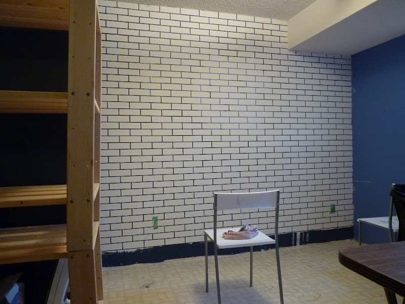 Wallpaper Batu Bata 3d D I Y D E S I G N How To Make A Faux Exposed Brick Wall