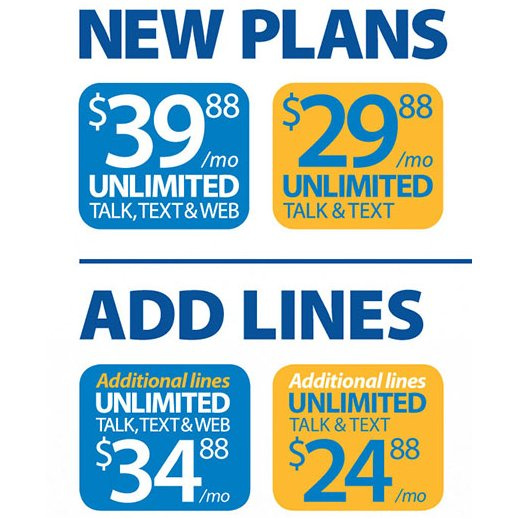 Walmart Cell Phone Plans Unlimited Data