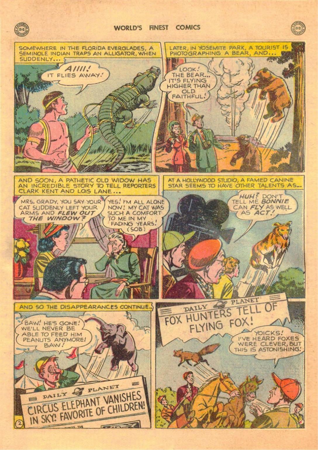 Read online World's Finest Comics comic -  Issue #42 - 4