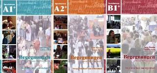 Begegnungen Deutsch als Fremdsprache A1+; A2+; B1+: Integriertes Kurs- und Arbeitsbuch mit Lösungsschlüssel +7 Audio-CD's