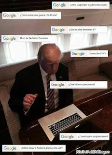 meme del presidente trump