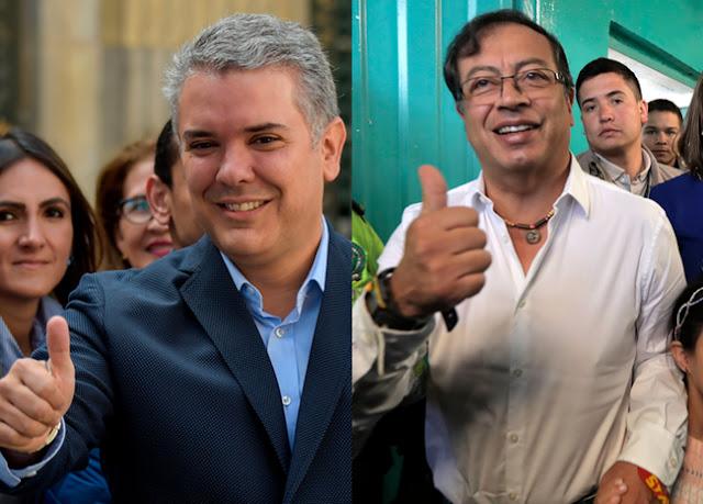 Duque y Petro ganaron consultas y son candidatos presidenciales