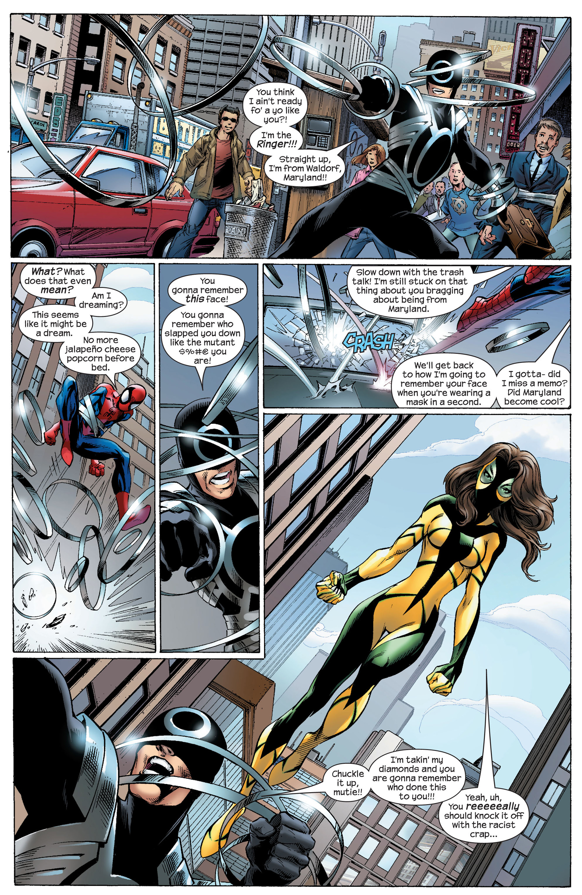 Read online Ultimate Spider-Man (2000) comic -  Issue #91 - 4