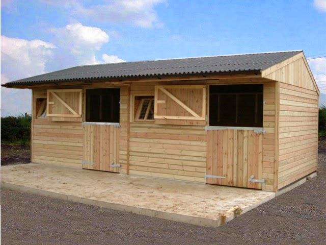 Horse Life And Love Stable Construction