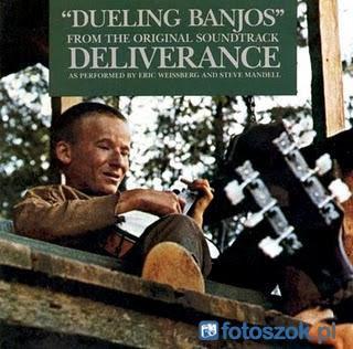 "La pochette de la BO du film ""Deliverance"""