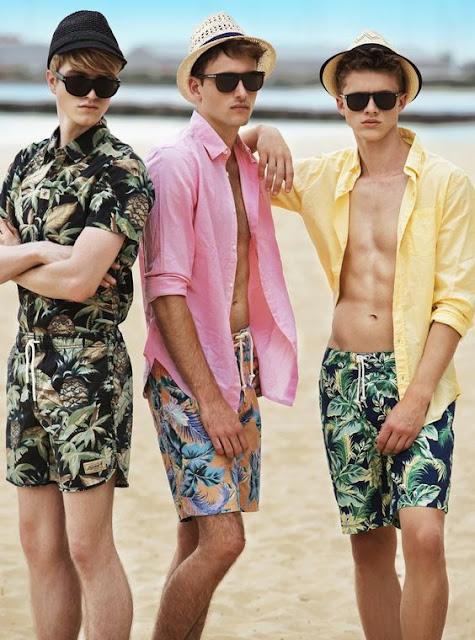 Looks masculinos verão