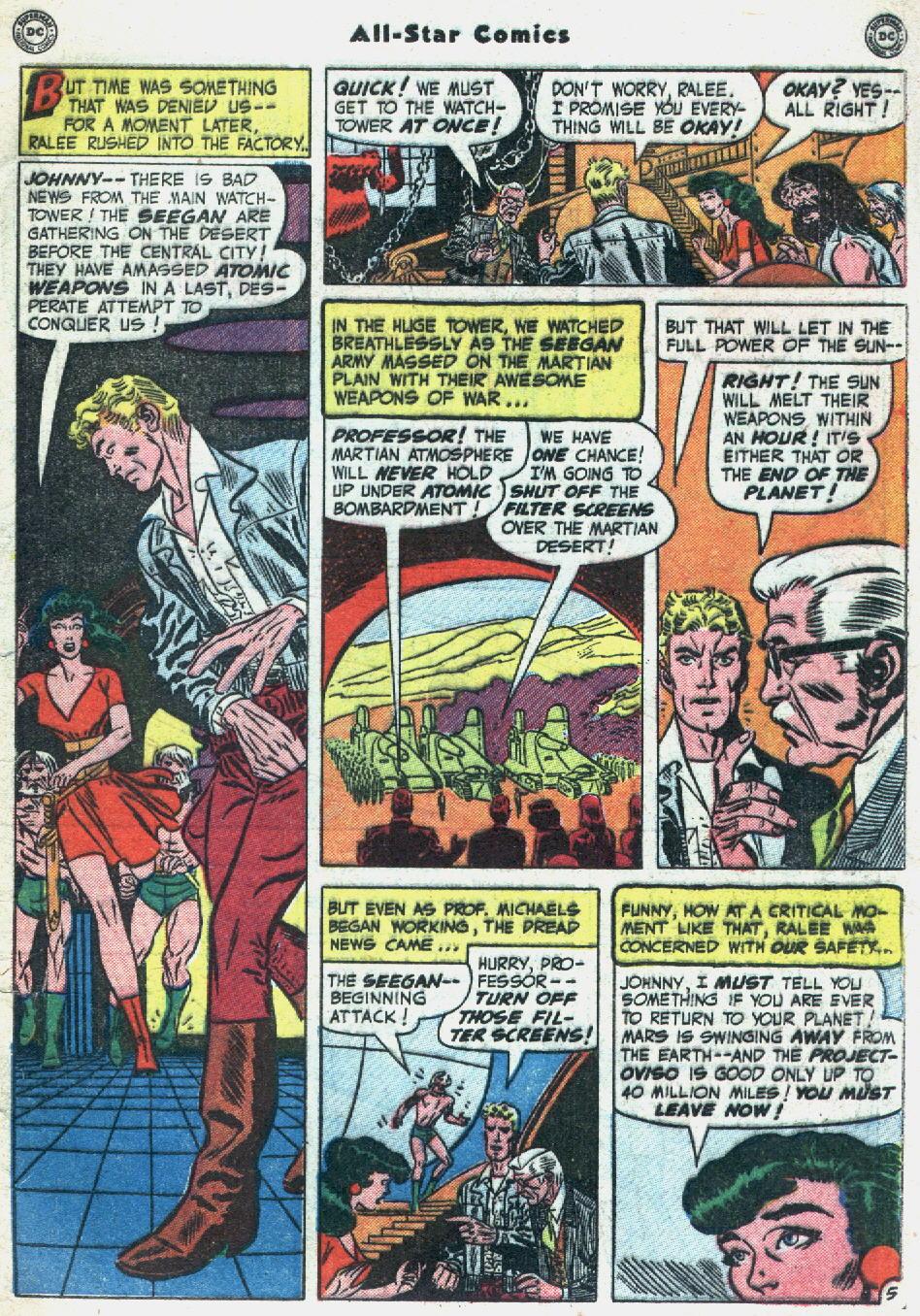 Read online All-Star Comics comic -  Issue #57 - 49