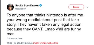 Un résumé (visuel) de la saga Soulja Boy vs Nintendo, A Unix Mind In A Windows World