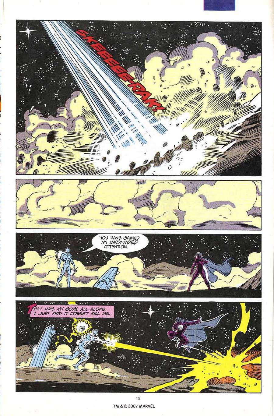 Read online Silver Surfer (1987) comic -  Issue #60 - 17