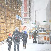 Under the snow