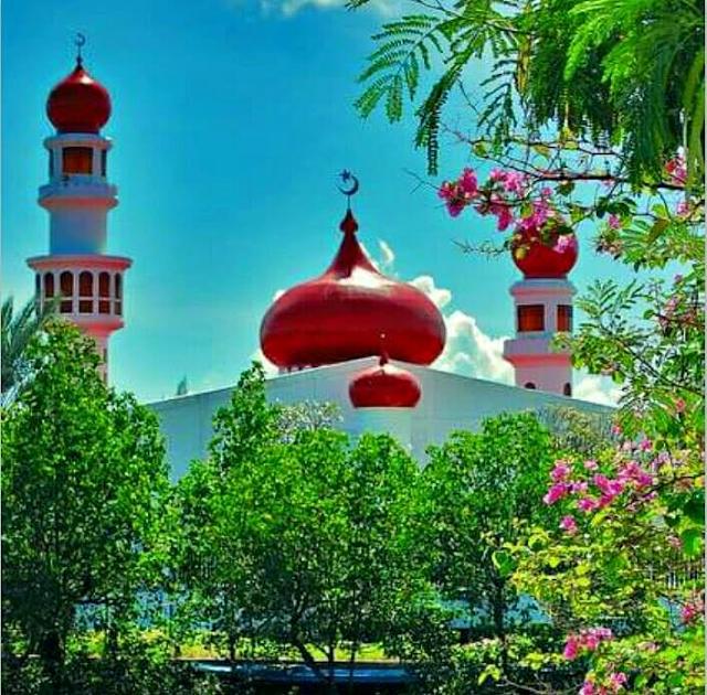 Beautiful Masjid In The Phillippines Taluksangay Zamboanga City Image