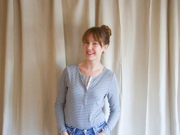 Ribbed Knit Madalynne X Simplicity 8435 Bodysuit