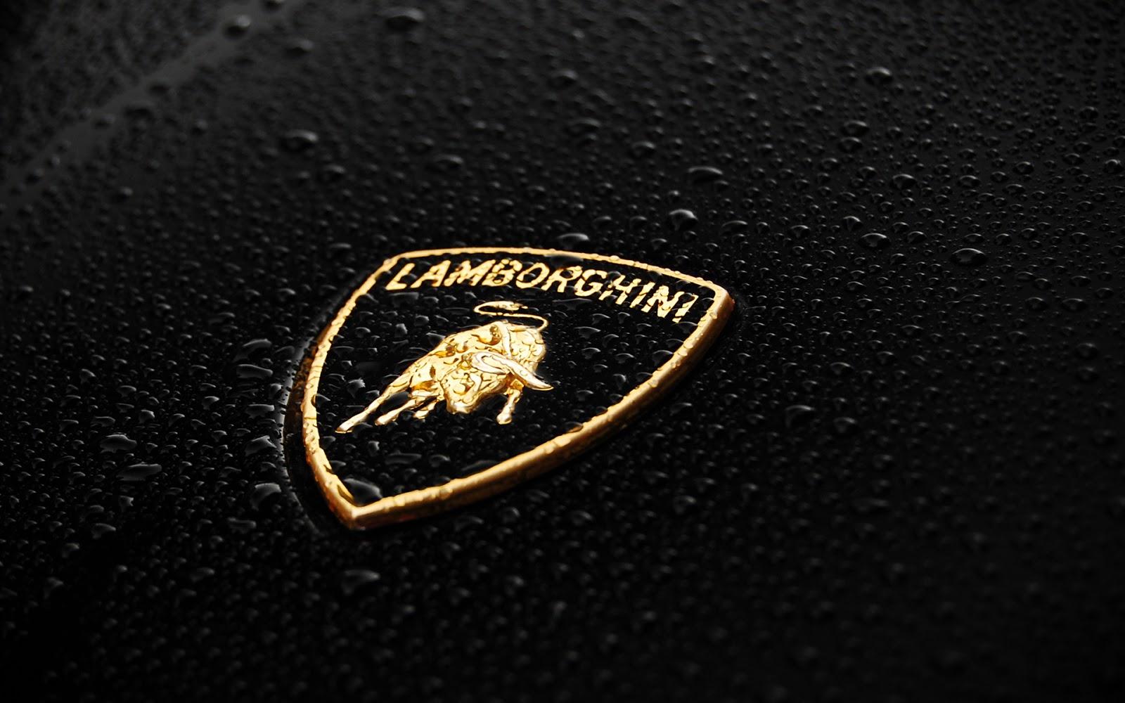 lamborghini logo wallpaper hd pics