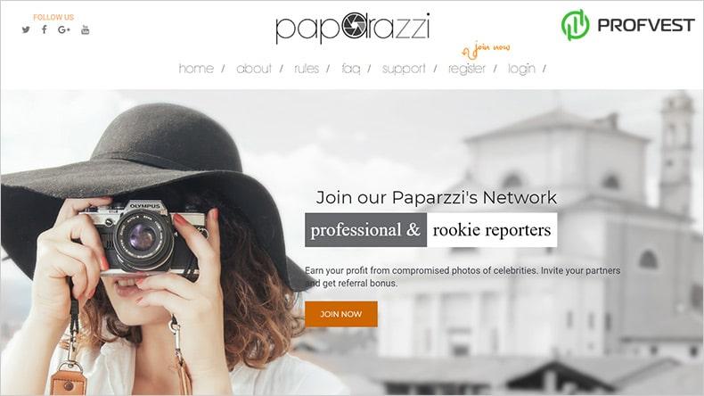 Paparazzi обзор и отзывы HYIP-проекта