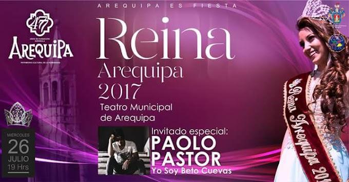 Reina Arequipa 2017 - 26 de julio