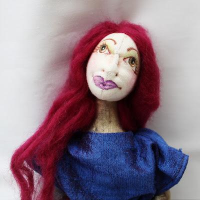 Fae art doll
