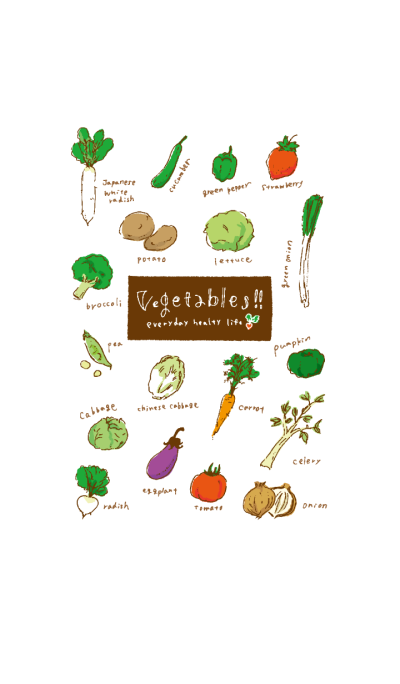 Vegetables!! from JAPAN