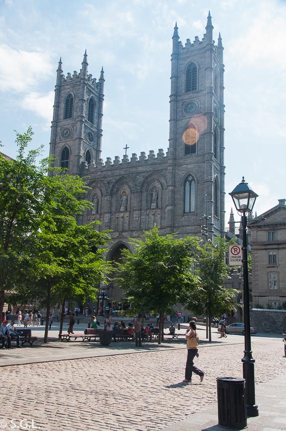 Basilica Notre Dame de Montreal. Canada