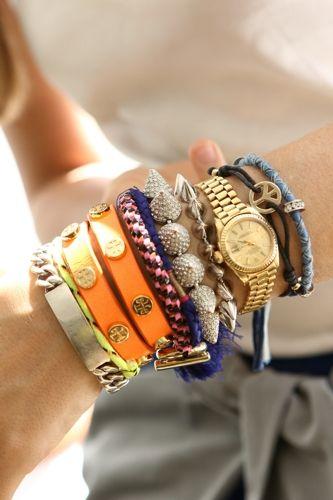 stud bracelets, friendship bracelets with luxe brand leather bracelets ...