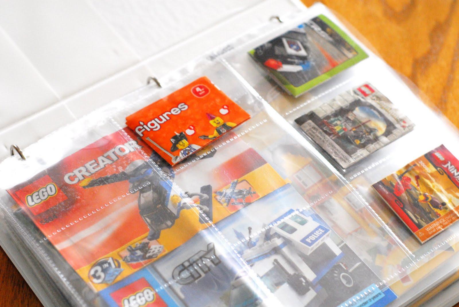 kristymakes diy lego instructions binder