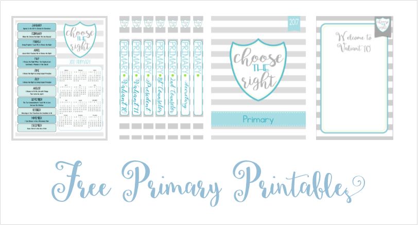 Naturally Creative Mama: LDS Primary 2017 Binder and Class Printables