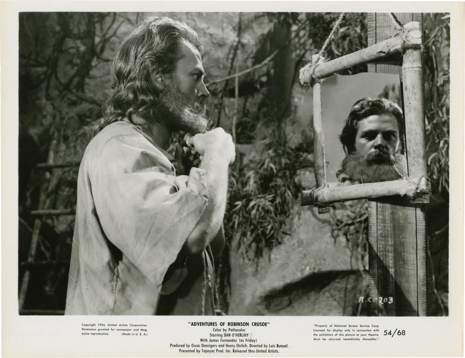 Robinson Crusoe - Luis Buñuel - imagen promoción - película