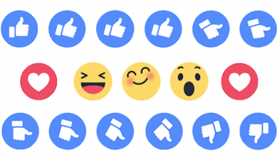 Facebook Reaction Button