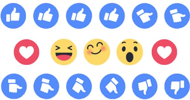 tak hanya like hari ini tombol love dan emoji lain bisa