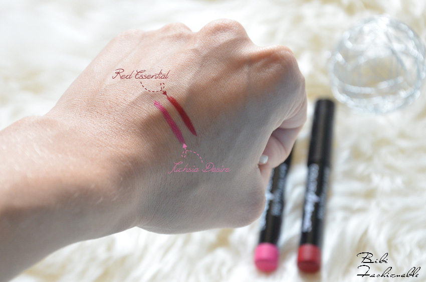 Color Drama Intense Velvet Lip Pencil Swatches