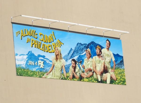 Always Sunny in Philadelphia season 12 billboard