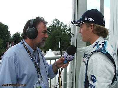Graham Benge and Nico Rosberg