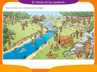 http://ceiploreto.es/sugerencias/juegos_educativos_6/12/1_En_tiempo_cazadores/index.html