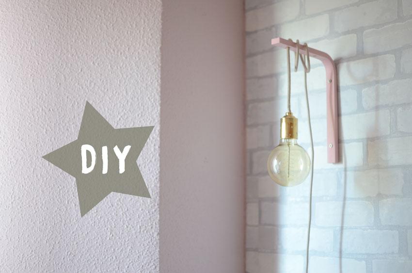 lampara de pared fácil de hacer