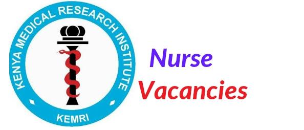 Nurse job vacancy at kemri
