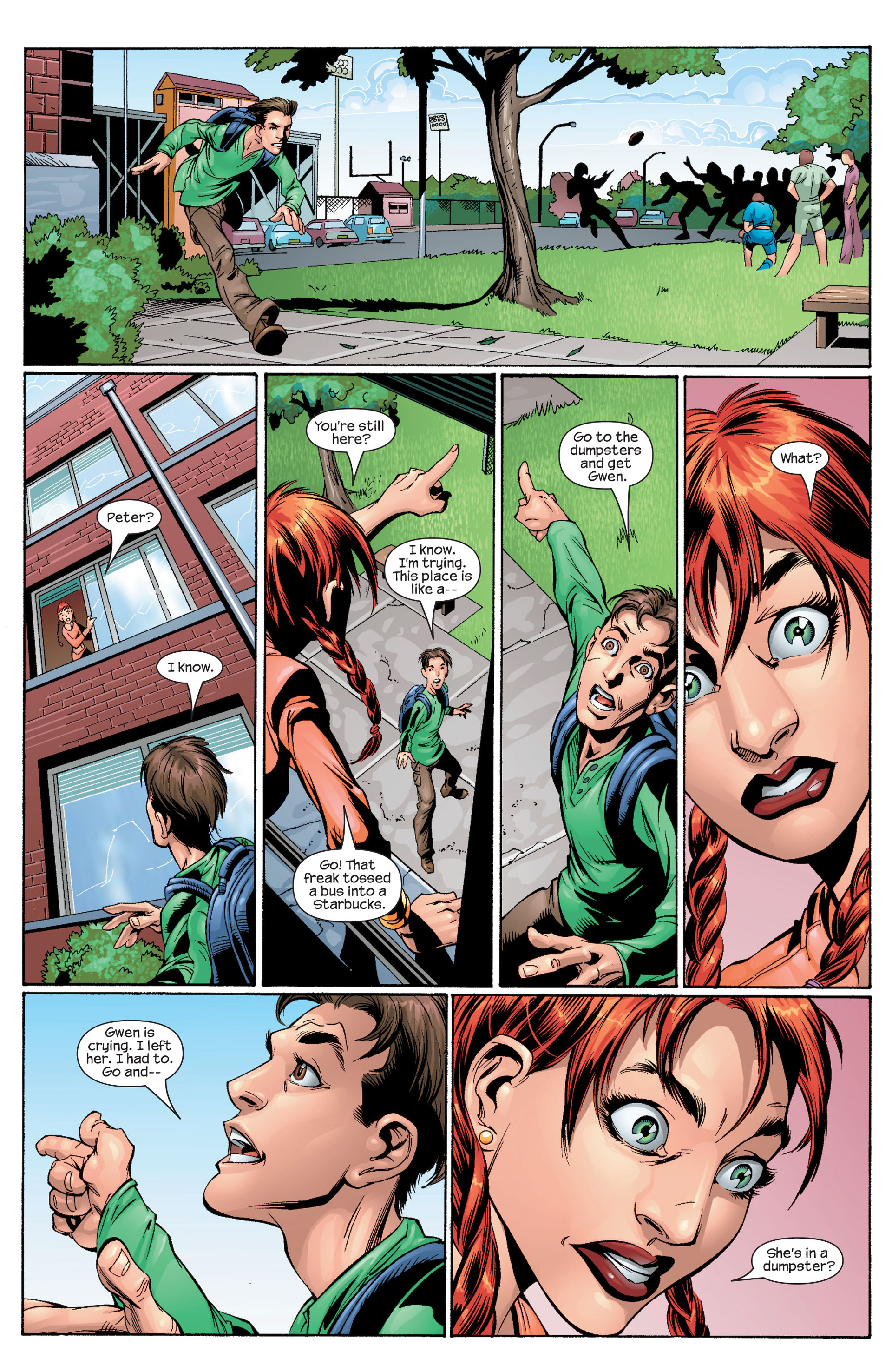 Read online Ultimate Spider-Man (2000) comic -  Issue #28 - 16