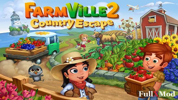FarmVille 2: Country Escape Mod Apk Terbaru