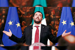 Italy's Matteo Salvini Lashes Out at Emmanuel Macron as 'Terrible President'