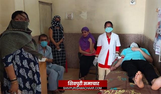 JCI डायनमिक संस्था द्वारा लॉकडाउन में रक्तपूर्ति हेतु लगाया शिविर, 40 यूनिट हुआ रक्तदान / Shivpuri News