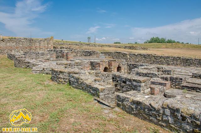 #Stobi Archaeological site #Macedonia