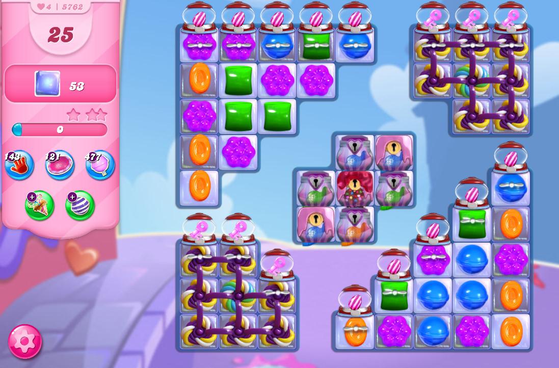 Candy Crush Saga level 5762
