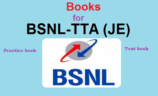Books for BSNL TTA or JE exam preparation ~ Study Guide