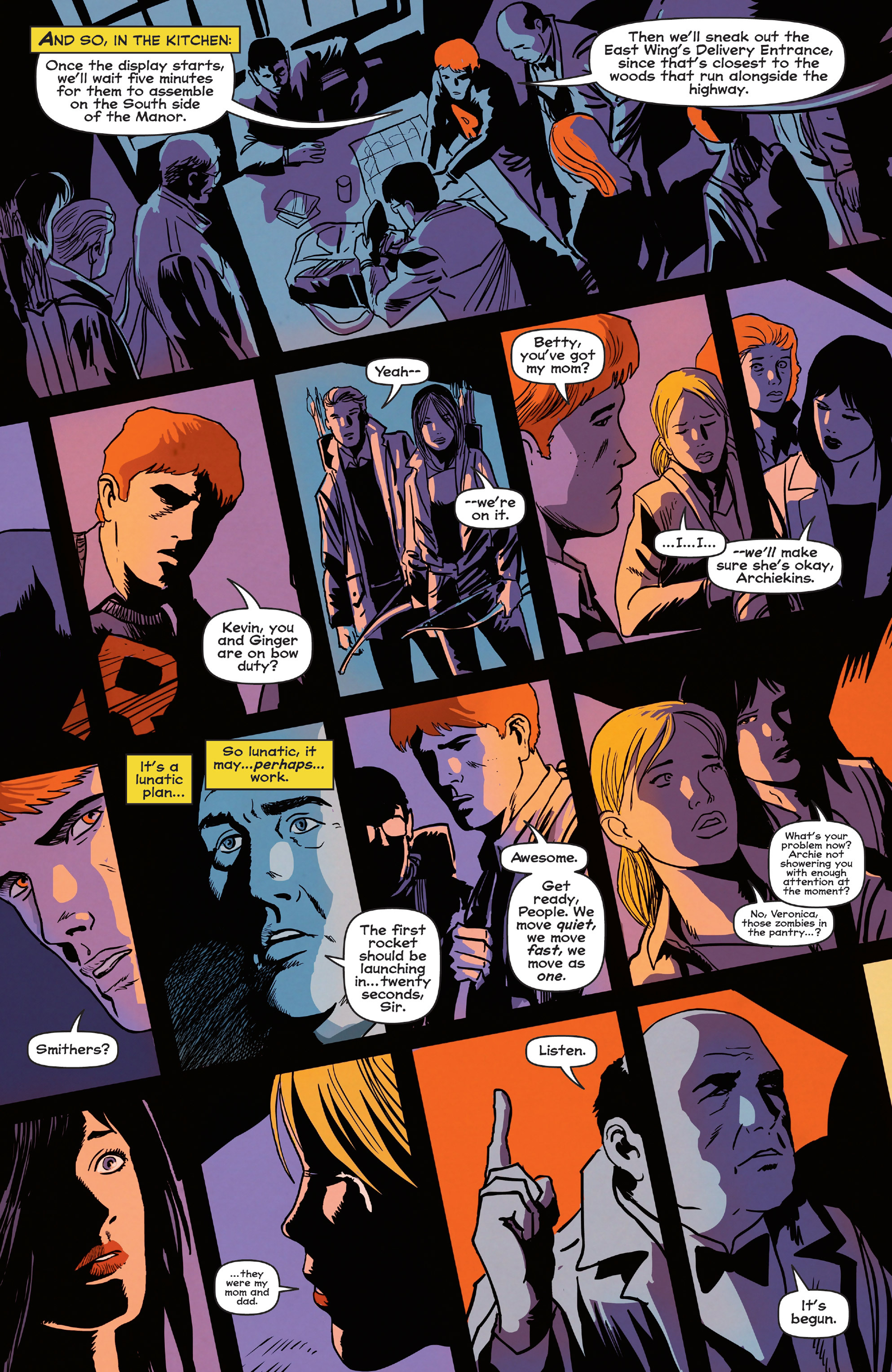 Read online Afterlife with Archie comic -  Issue #5 - 22