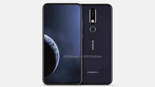 Nokia X71 a.k.a 8.1 Plus design sketch leaked before launch