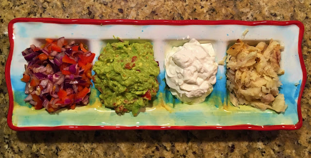 Toppings for fish tacos