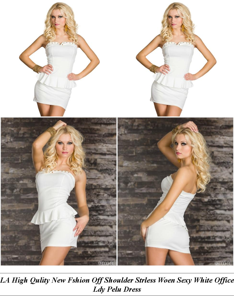 Gray Cocktail Dress Short - Fashion Designer Clothing Style - Uy Womens Clothing Online Nz