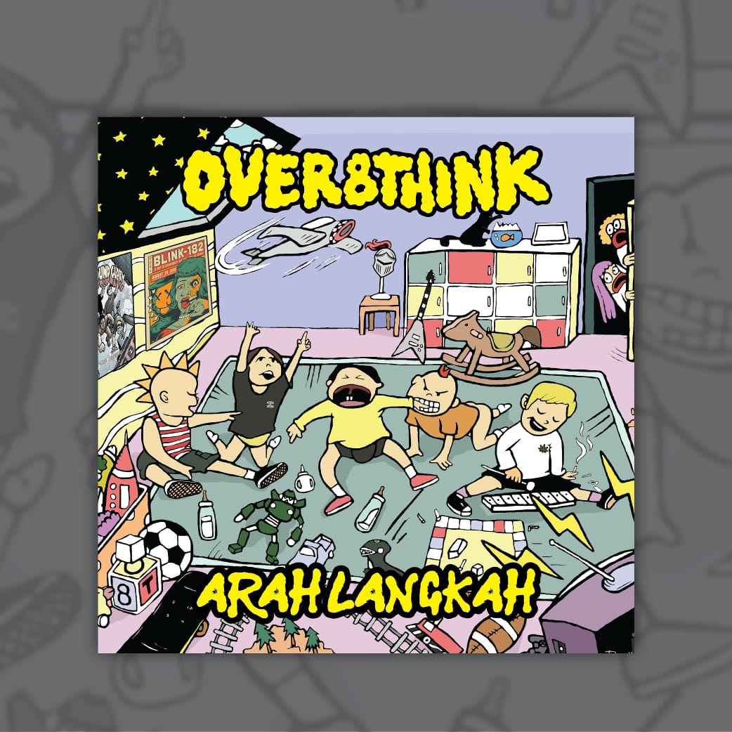 """Arah Langkah"" - debut mini album perdana Over8think"