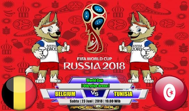 Prediksi Belgium vs Tunisia 23 Juni 2018