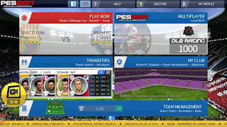 Download DLS Mod PES 2017 by Ismail Apk + Data Android